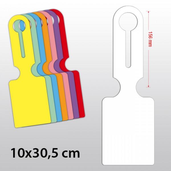 Hängeetiketten aus Polyart 100 x 305 mm