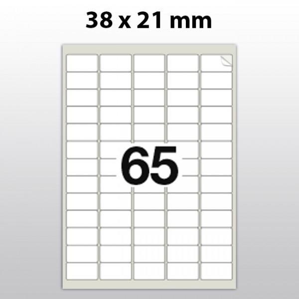 Klebeetiketten aus Polyester für Laserdrucker LA3821