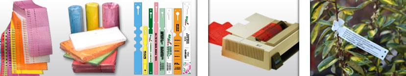 Etichette con asola