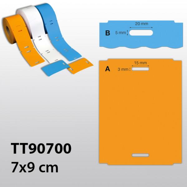 rechteckige Etiketten für TT TT90700