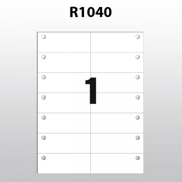 Hängeetiketten aus Polyester für Laserdrucker R1040