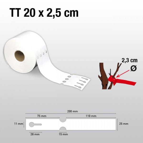 Schlaufenetiketten aus Tyvek TT25200