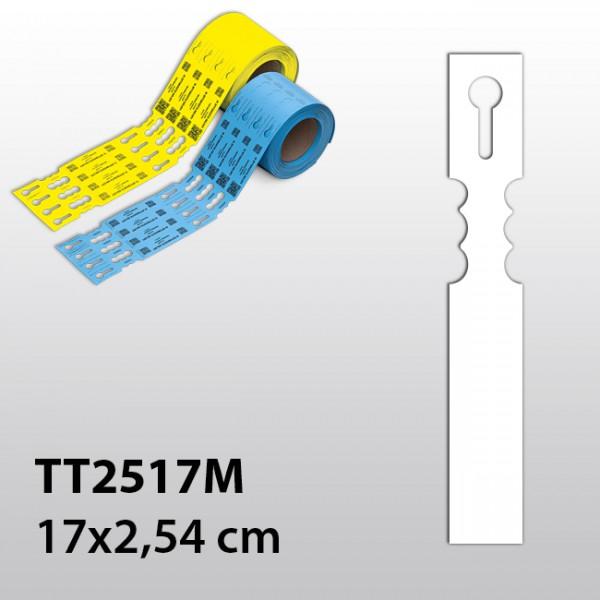 Schlaufenetiketten für Thermotransferdrucker TT2517M