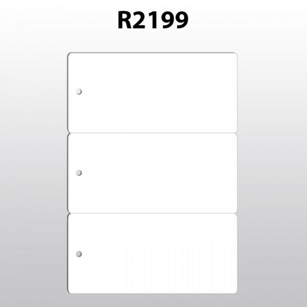 Hängeetiketten aus Polyester für Laserdrucker R2199