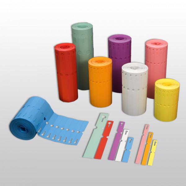 Schlaufenetiketten aus PVC A2225